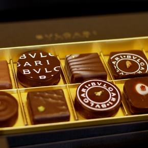 Chocolate Gems at BVLGARI ILCIOCCOLATO
