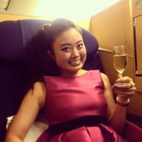 ANA 777 Paris-Tokyo with First class 1/2