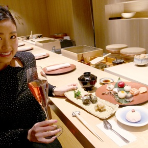 Special sushi and cocktail for the women's' Festival