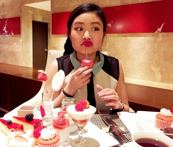 strawberry art buffet hilton tokyo18