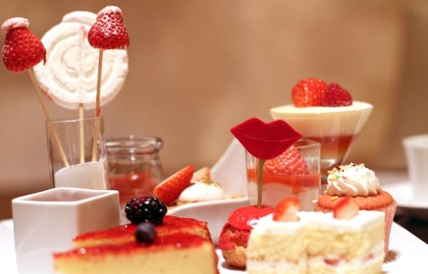 strawberry art buffet hilton tokyo6
