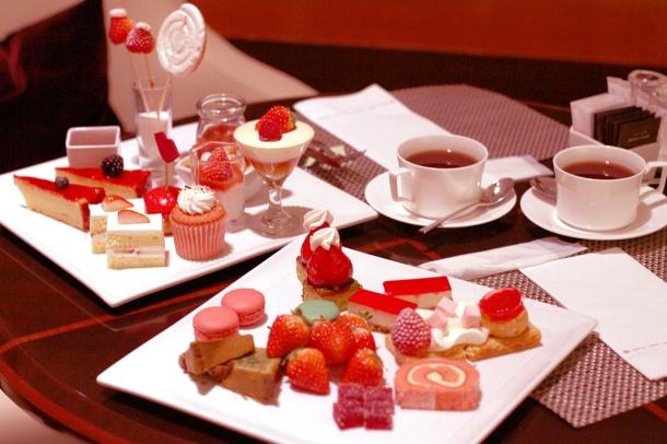 strawberry art buffet hilton tokyo8