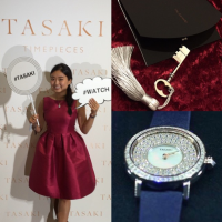 100% JAPAN MADE ! TASAKI TIMEPIECES