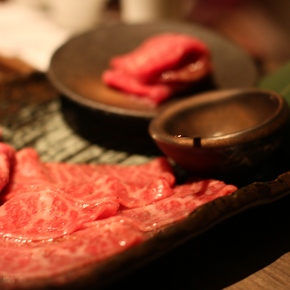 Sake and Japanese Beef special 4,000 yen menu!
