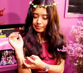 """Romantica"" time by Floral Jewel Afternoon Tea with Anna Sui"