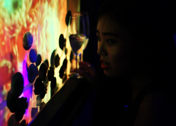 Mika Ninagawa x SUMIDA Aquarium Jellyfish kaleidoscope tunnel11