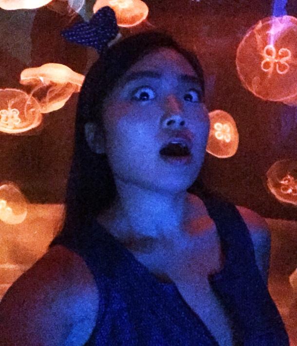 Mika Ninagawa x SUMIDA Aquarium Jellyfish kaleidoscope tunnel2