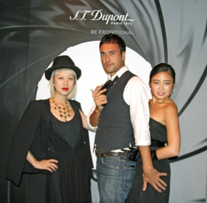 I'm a bond girl by 007 SPECTRE x S.T. Dupont