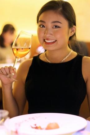 Casual chic Bordeaux wine and excellent Franco-Japonaisdiner