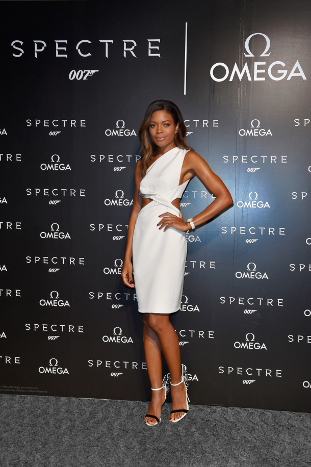 TOKYO, JAPAN - NOVEMBER 30: Naomie Harris attends the after party for event celebrating the OMEGA SPECTRE Japan release on November 30, 2015 in Tokyo, Japan. (Photo by Koki Nagahama/Getty Images for OMEGA) *** Local Caption *** Naomie Harris *** Local Caption *** Naomie Harris
