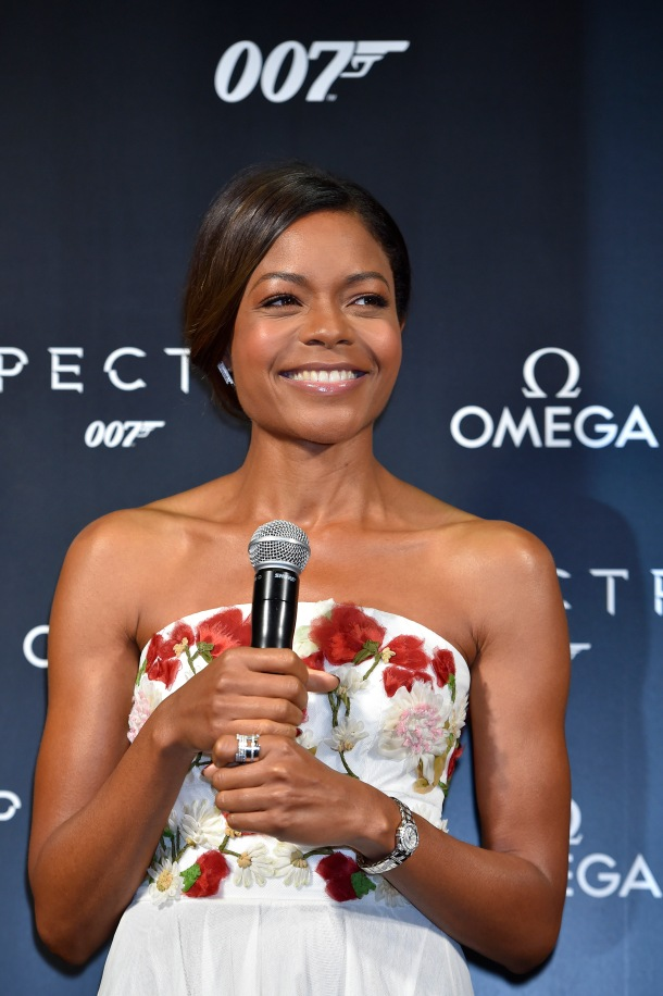 TOKYO, JAPAN - NOVEMBER 30: Naomie Harris attends the event celebrating the OMEGA SPECTRE Japan release on November 30, 2015 in Tokyo, Japan. (Photo by Koki Nagahama/Getty Images for OMEGA) *** Local Caption *** Naomie Harris