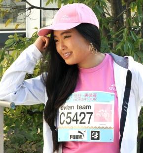 Elegance women's run with evianteam!