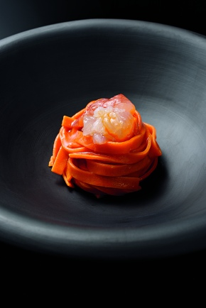 Beautiful food book by BVLGARI