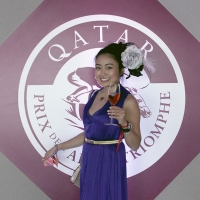 Japanese horse MAKAHIKI and Le Qatar Prix de l'Arc de Triomphe