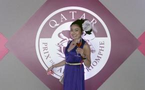 Japanese horse MAKAHIKI and Le Qatar Prix de l'Arc deTriomphe