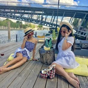 with Super Japanese girlLara